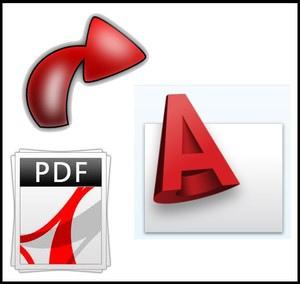 convertir fichier autocad en pdf