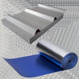 Manta termica de aluminio para techos - Madera aislante termico ...