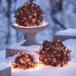 10 Ideas Creativas para Decorar con Luces de Navidad