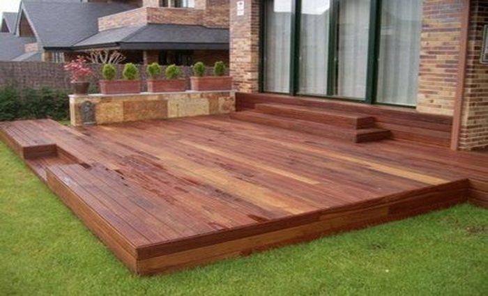 Maderas recomendadas para exterior Escaleras de madera exterior